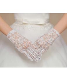 Krajkové rukavičky pro nevěstu