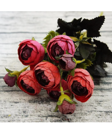 Dekorační umělé květiny
