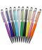 Barevná propisovací tužka se třpytivými krystaly