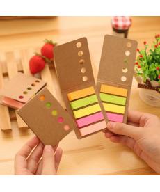 Papírová obálka s barevnými rozlišovacími lístečky