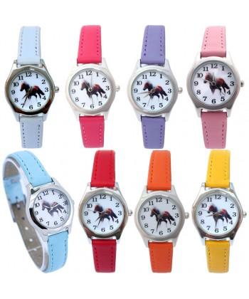 Dětské hodinky s koněm