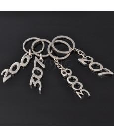 Stříbrný přívěsek na klíče Peugeot 206 207 307 308 408 508 3008