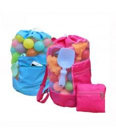 Skládací plážový obal batoh na dětské hračky či bábovičky na pískoviště
