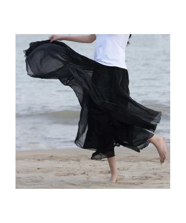 3a777e23e36b Dlouhá letní šifonová sukně extra vzdušná