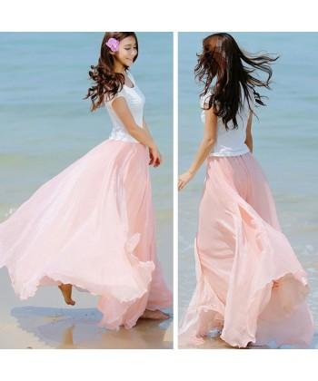 90866ceaa248 Doprava zdarma Skladem u dodavatele Letní vzdušná plážová sukně !