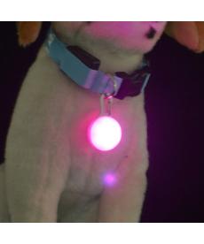 Barevný LED přívěsek na obojek pro psa