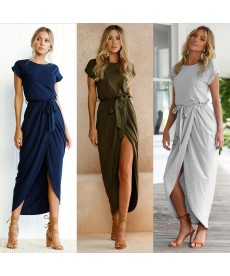 Dámské letní asymetrické šaty