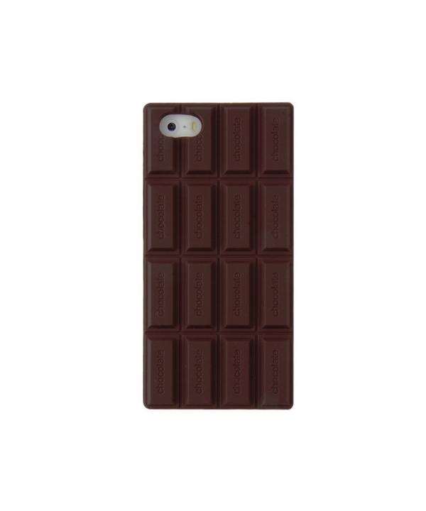 Zadní kryt na iPhone 5   5s v 3D tabulka čokolády 50869670888