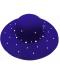 Klobouk posázený perlovou dekorací