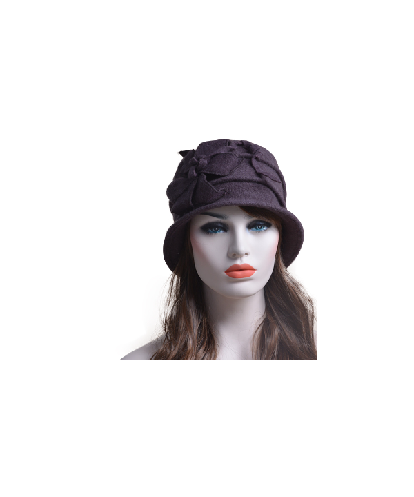 Dámský klobouk s květinovou aplikací 1a50adbf12