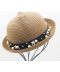 Roztomilý dětský klobouček s oušky
