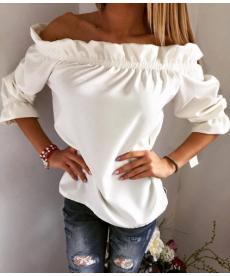 Pestré módní tričko na ramena