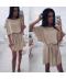 Elegantní jednobarevné dámské šaty