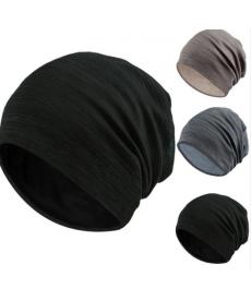 Jednobarevná tenká čepice
