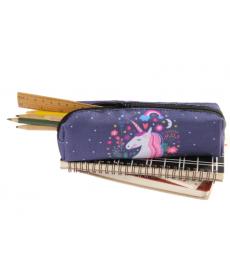 Pouzdro na tužky s jednorožcem