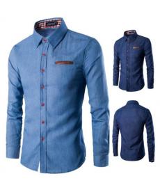 Pánská riflová košile