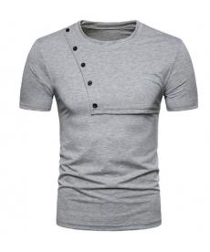 Sportovní pánské tričko s knoflíčky