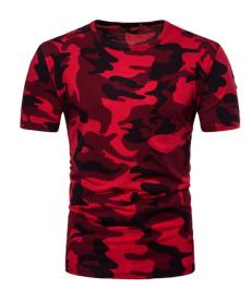 Pánské maskáčové triko ve více barevných variantách