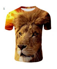 Pánská 3D trička LION