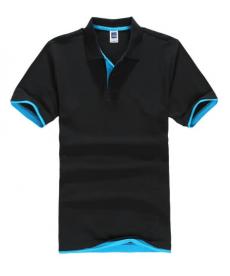 Jednobarevné pánské POLO triko