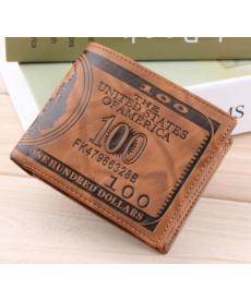 Klasická pánská peněženka s motivem bankovky