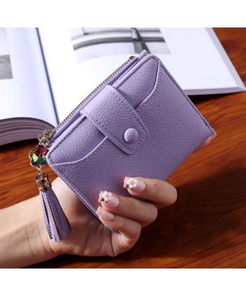 Malá dámská peněženka s třásní