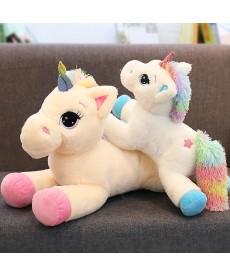 Plyšový kůň jednorožec Unicorn