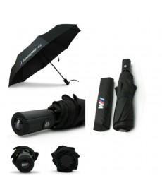 Pánský skládací vystřelovací deštník s logem značky BMW