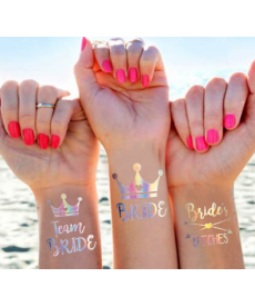 Set 10 ks tetování na rozlučku se svobodou