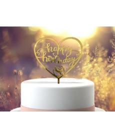 Umělá dekorace na narozeninový dort