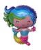 Narozeninový balónek - malá mořská víla