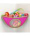 Závěsný koupelnový organizátor na hračky
