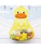 Závěsný koupelnový organizér na hračky - kačenka