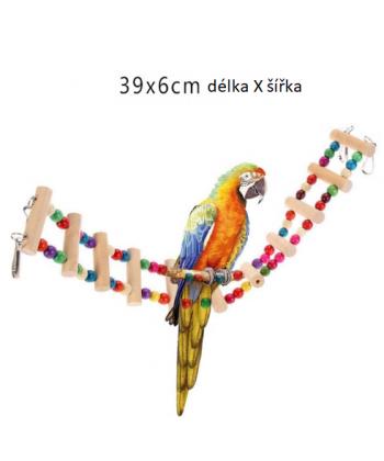 Dekorační a funkční doplňky do ptačí klece