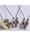 Dekorační magnetický držák závěsů