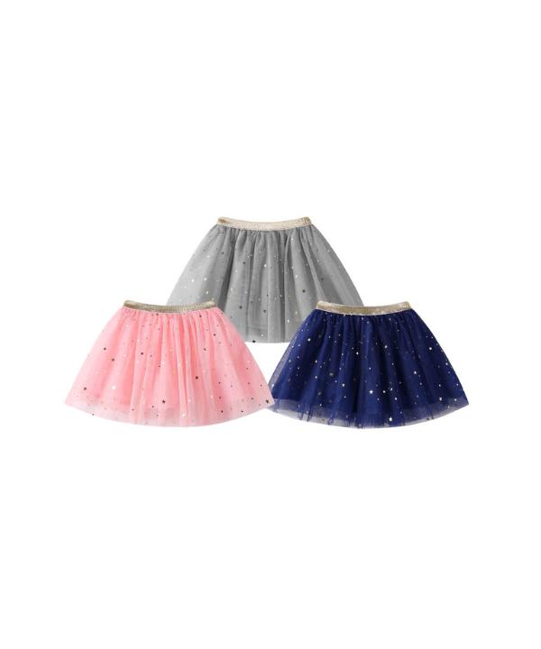 58f7a586720a Dívčí tylová sukně s třpytivými hvězdičkami