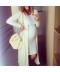 Jednoduché tílkové letní šaty vhodné pro těhotné