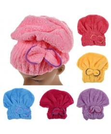 Ručník - turban k usušení vlasů