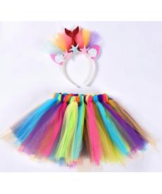 Dívčí tutu party set - sukně, čelenka