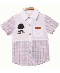 Klučičí kostkovaná košile Chaplin