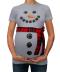 Těhotenské triko - sněhulák