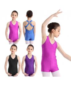 Gymnastický a baletní kraťasový dres