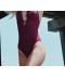 Elegantní jednodílné dámské plavky s volánkem