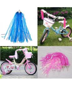 Set dvou ozdobných střapců na dětské kolo