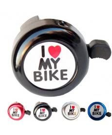 Zvonek na kolo I love my bike