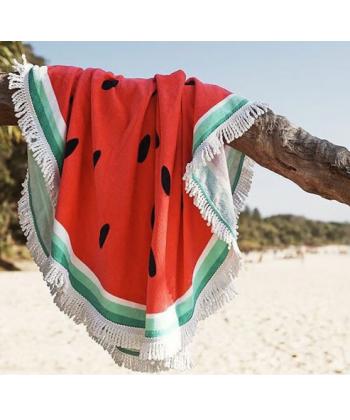 Kulatá plážová osuška meloun