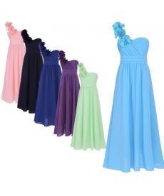 Dívčí letní slavnostní šaty pro družičky