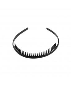Pánská čelenka do vlasů v černé barvě