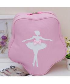 Baletní dívčí růžová taška