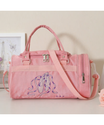 Dívčí baletní tréninková taška v růžové barvě